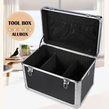 Portable Aluminum Hard Tool Box Big Capacity Garage Hard Briefcace With Strap