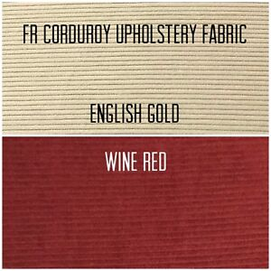 High Quality Fire Retardant Corduroy Needlecord Upholstery Sofa Cushion Fabric