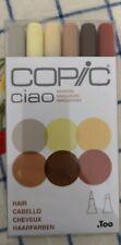 Copic Ciao Marker Set | Dual-Tip Pens | Arts Craft Design Artist | 6pc Kit