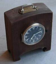 8-day 8-tage WWII Army Clock KIENZLE General (№ 6239, 1940-made) in WOODEN STAND