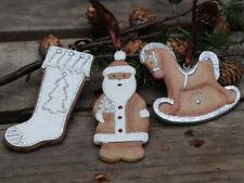 Chic Antique Weihnachtsschmuck Deko Schaukelpferd Nikolaus Shabby Vintage