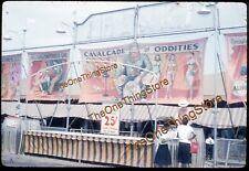 Side Show Poster James Strates Carnival Banner Stage 1960s 35mm Slide Freak