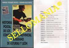 HISTORIA POSTAL CONSEJOS INTERPROVINCIAL Y SOBERANO ASTURIAS Y LEON    PERFECTO