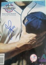 jay bell signed 2001 world series program autographed 01 ws dbacks auto guide