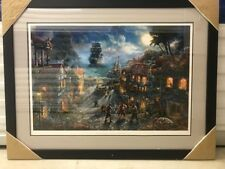 "Rare Thomas Kinkade "" Pirates of the Caribbean"" Original Ltd. Ed. Lithograph-COA"