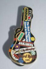 """Hard Rock Cafe - Vintage Jakarta """"Guitar Case Series"""" 2005 Pin"""