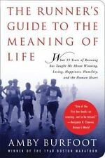The Runner's Guide to the Meaning of Life, Burfoot, Amby