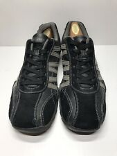 "Perry Ellis America ""Roy"" Black Leather Soft Walking Casual Shoes Sz9.5"