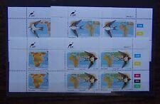 Ciskei 1984 Migratory Birds set in block x 4 MNH