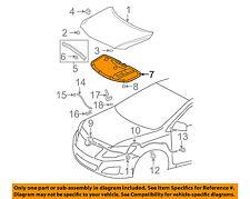 TOYOTA OEM 09-13 Corolla Hood-Insulation Pad Liner Heat Shield 5334102180