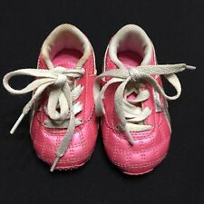 Reebok Pink Baby Tennis Shoes Size 3 Silver Infant