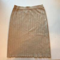 Women's Ann Klein Silk Skirt - Size S