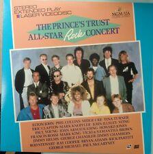 PRINE'S TRUST ALL STAR Rock Concert Laserdisc McCartney Howard Jones Clapton LD