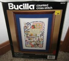 "BUCILLA COUNTED CROSS STITCH ""STITCHER'S SAMPLER KIT #40767 NIP"