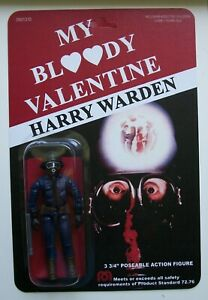 Custom made 3 3/4 Harry Warden My Bloody Valentine Vintage Style Action Figure