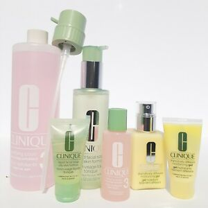 Clinique Great Skin Everywhere Kit Facial Soap and Lotion (6 Piece Gift Set) NEW