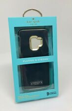 NEW Authentic Kate Spade NY Wrap Case for Samsung Galaxy S9 - BLACK GOLD