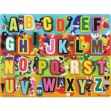 Melissa and Doug Jumbo ABC Chunky Puzzle