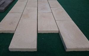 Linear paving tiles 450mm x 225mm decorative Paving. Stepping stones/path.