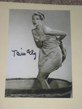 Actress TAINA ELG Signed 4x6 Photo AUTOGRAPH