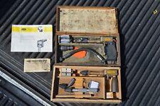 Vintage MotoMeter Diesel & Gas Recording Compression Tester VW Mercedes Porsche