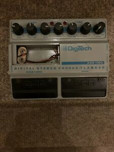 DIGITECH PDS 1700 DIGITAL STEREO CHORUS/FLANGER 1980's, made in USA, collectible