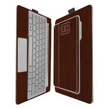 Skinomi Dark Wood Skin & Screen Protector HP Envy 8 Note Tablet & Keyboard