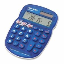 Sharp Els25 Quiz Calculator - 10 Character[s] - Lcd - Solar, Battery Powered