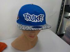 Blue Trukfit Snapback Hat Lil Wayne Truck Hat