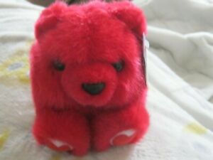 KISSES THE RED HEARTS VALENTINE EDITION PLUSH PUFFKINS NWT