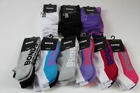 *CHEAP* WOMENS BONDS SOCKS - ASSORTED STYLES - LOW CUT & CREW - 2 PACK or 3 PACK