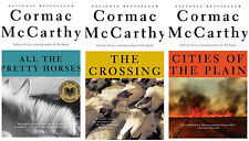 Cormac McCarthy Classic Western BORDER TRILOGY Large Trade PAPERBACK SET 1-3!