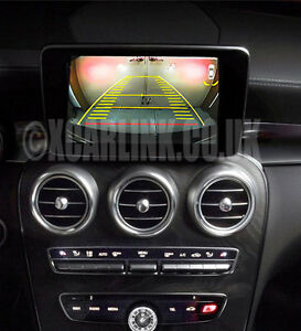 Mercedes NTG 5 Rear Camera Interface + Dynamic Guidelines C/E/CLA/S Class 2014 >