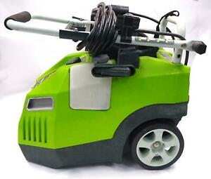 Greenworks 51012 1700PSI 13Amp 11.72MPa Pressure Washer w Hose Compact Design