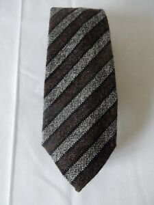 Lovely Vintage Anthony Haines Scottish Tweed Wool Tie Excellent
