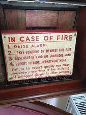 Vintage Bradford Mill sign Circa1920 an iconic original employees sign