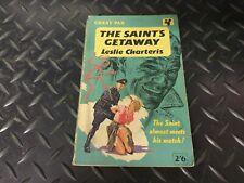 Leslie Charteris The Saint's Getaway Great Pan