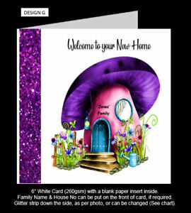 'Welcome to your New Home' Card, Congratulations on New Home, 8 Designs