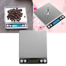 500gx0.01g Digital Pocket Precision Scale Jewelry Weight Electronic Balance Gram