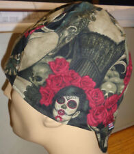 Ladies of the Day of the Dead 100% cotton, Welding,, pipefitter,4 panel hat