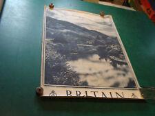 "Original Vintage Poster: BRITAIN 20 X 30""--SCOTLAND-River Aylort"