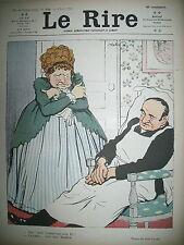 LE RIRE N° 496 HUMOUR DESSINS FAIVRE LE PETIT FABIANO GENTY 1912