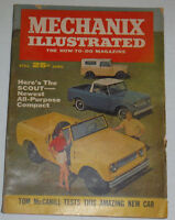 Mechanix Illustrated Magazine The Scout Newest All Compact April 1961 120614R