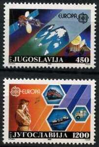 Yugoslavia 1988 SG#2445-6 Europa, Transport & Communications MNH Set #D77135