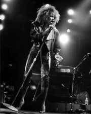 1985 Rock & Pop Singer TINA TURNER Glossy 8x10 Photo Private Dancer Tour Poster