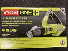 Ryobi P591 18V 18-Volt One+ 18-Guage offset Shear (New In Box)