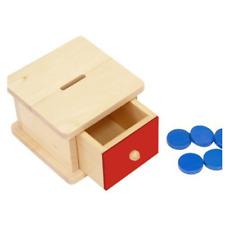 Elite Montessori Infant Coin Box Preschool Learning Material