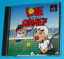 Love Game's - Wai Wai Tennis - Sony Playstation - PS1 PSX - JAP