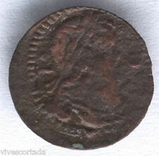 Luis XIV Rising Catalonia Money BARCELONA 1648