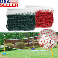 Height Badminton Volleyball Tennis Beach Net Set Indoor Outdoor Games Green/Red
